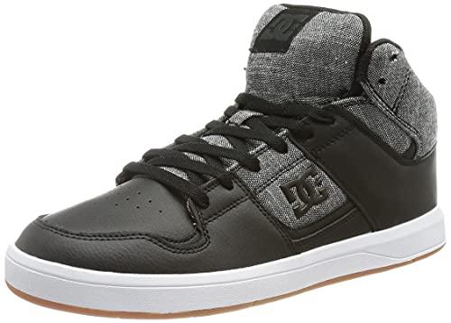 Dcshoes DC Shoes Cure HI Top, Zapatillas Hombre, Negro, 39 EU