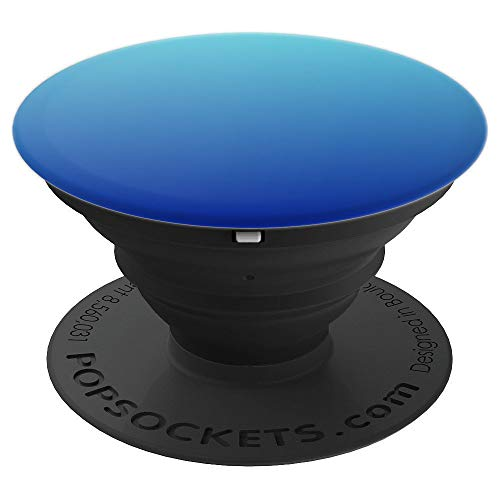 Blue Aesthetic Ombre PopSockets Grip and Stand for Phones and Tablets