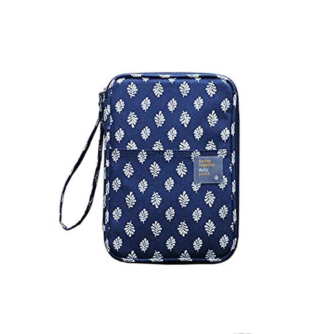 Better Together Daily Pouch Ver.2 (Navy Leaf)