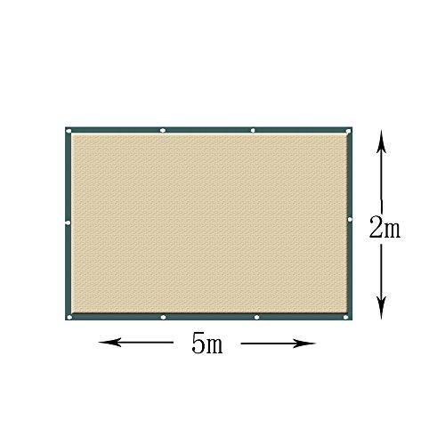 Voiles d'ombrage Écran de tissu de tissu d'abri d'auvent d'auvent de khady carré d'ombre de Sun - (TAILLE PERSONNALISÉE DISPONIBLE) Tailles personnalisées disponibles