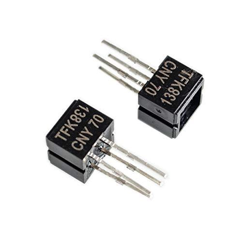 10pcs CNY70 Reflective Optical Sensor with Transistor Output DIP-4.