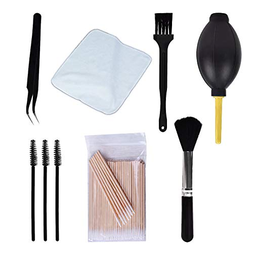 108 Pcs for iPhone Cleaning Kit, for Airpod Cleaner Kit Phone Jack Charger Port Hole Plug Speaker Cleaner Tool for Cameras Keyboards Headphones