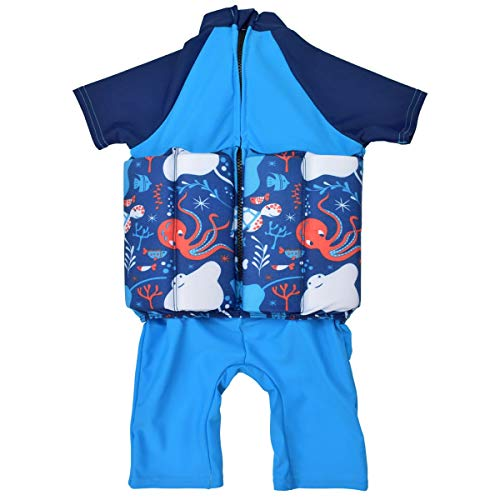 Splash About Kids' Under The Sea UV Sun Protection Floatsuit, 2-4 Years