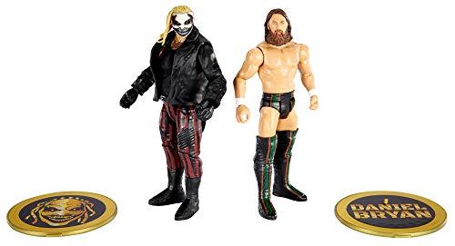 """WWE Serie Campeonato Pack 2 figuras Bray Wyatt """"El Demonio"""" y Daniel Bryan, muñecos articulados de juguete con accesorios (Mattel GVJ17)"""