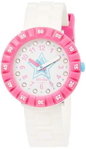 FlikFlak Mädchen Analog Quarz Uhr mit Plastik Armband FCSP076