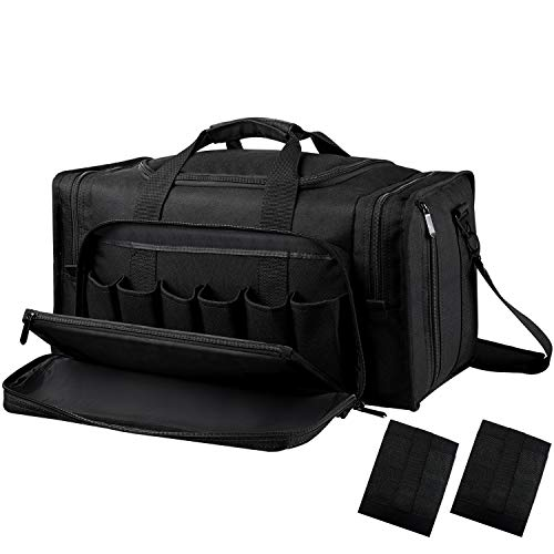 SoarOwl Tactical Gun Range Bag Shooting Duffle Bags for...