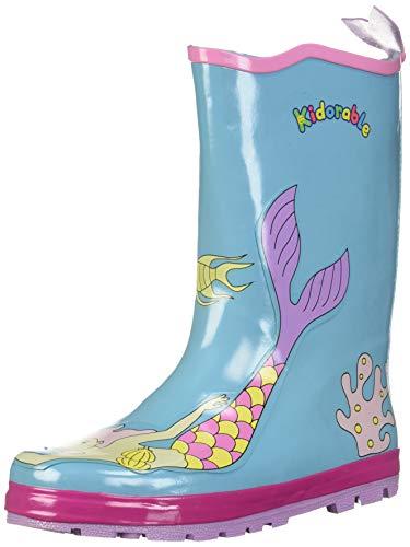 Kidorable Original Gummistiefel/Regen Stiefel Meerjungfrau für Jungen & Mädchen EU 22
