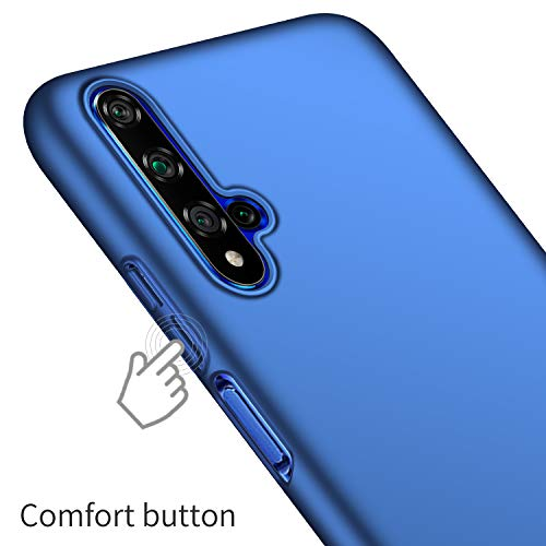 Kqimi Case for Huawei Honor 20/Nova 5T/Honor 20S Ultrathin Lightweight Matte Phone Case Simple Shockproof Scratchproof Full Body Case Compatible with Huawei Honor 20/Nova 5T/Honor 20S (2019) 6.26'Blau - 4