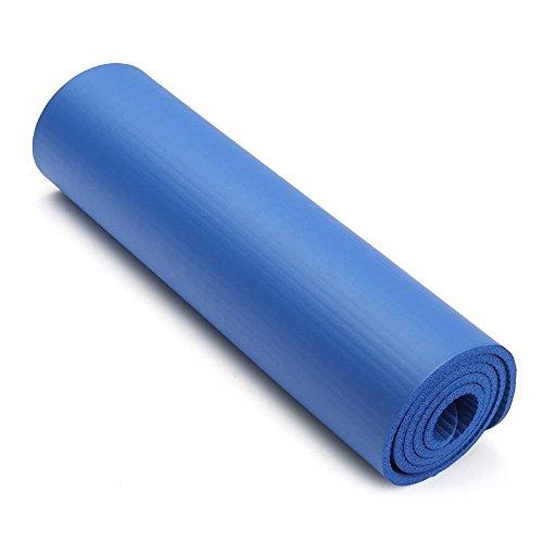 'Magic di elefante Tappetino da yoga/pilates/Turn Matte/Fitness Matte/Studio Matte 180x 61x 1cm (10mm di spessore) antiscivolo robusto e 'Qualità Premium per Sport esercizi in blu/viola/grigio