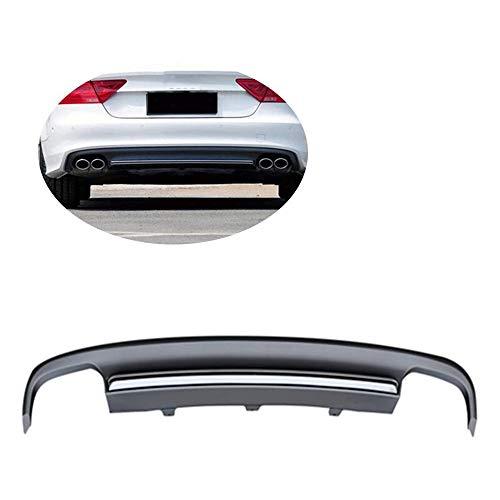 JC SPORTLINE fits Audi A7 Sedan Standard 2012-2015 PP Rear Bumper Lip Diffuser