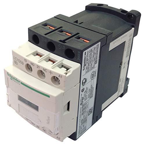 LC1-D09BD 24VDC | LC1D09BD | SCHNEIDER CONTACTOR 4KW 9A AC-3 3P + 1N/O & 1N/C AUX 24VDC COIL