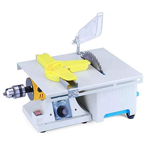 Kacsoo sieraden-polijstmachine, sieradenzaagset voor mini-tafel, polijstbank, voor de bewerking van hout van metaal, edelsteen met complete accessoires
