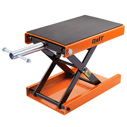 Motorcycle Lift Scissor Jack Center Stand,...