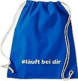 ShirtInStyle gym gym kultsack hashtag #est à vous style - Bleu - Bleu...