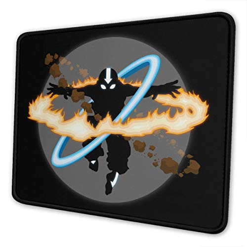 Aang Going Into Uber Avatar State Mouse Pad Non Slip Gaming Mouse Pad with Stitched Edge Computer PC Mousepad Rubber Base for Office Home