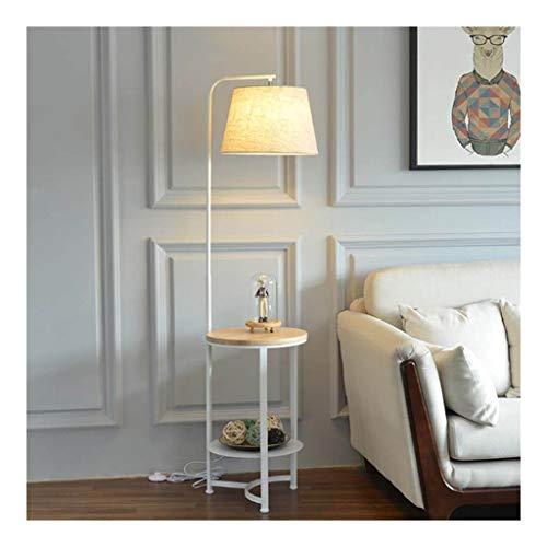- Staande lamp LED staande lamp met opbergruimte tafel moderne woonkamer decoratie verticaal licht slaapkamer nachtleeslamp staande lamp gebogen