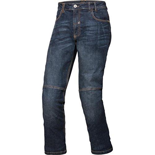 Spirit Motors Motorrad Jeans Motorradhose Motorradjeans Aramid-/Baumwolljeans mit Stretch 1.0 blau 38/32, Herren, Chopper/Cruiser, Ganzjährig, Textil