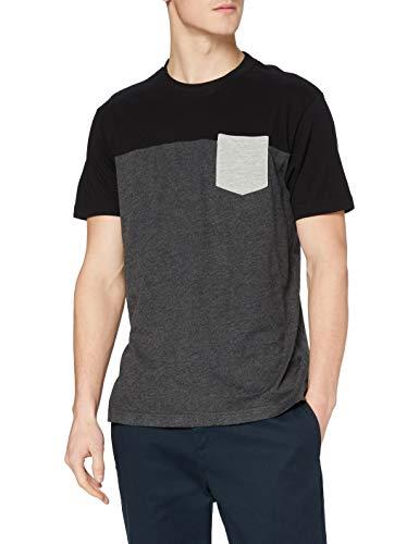 Urban Classics T-Shirt 3-Tone Pocket tee Maglia a Maniche Lu