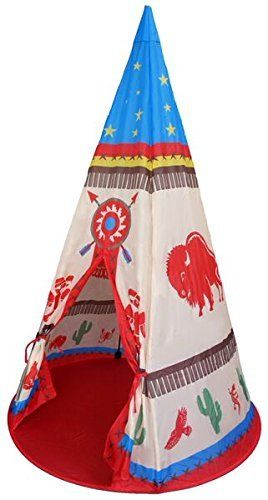 Childrens Wigwam Play Tent Teepee Design. Boys Play Tent / Playhouse / Den by Pop It Up