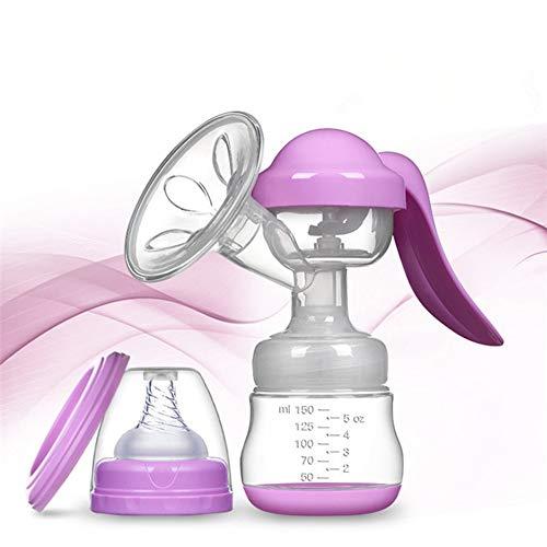 J.W. Manuelle Saugen Muttermilch Pumpe, Silikon-Baby Flasche, Mütterliche Brust Pumpmaschine, Hochtemperatur Beständig und Beheiz Bar