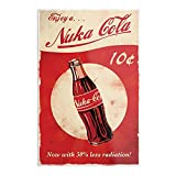 76 Gaming Video Nuka Vegas Cola 4 Fallout New Games - Games - Prints Wall Design for Living Room Home Decor Customize - Poster No Frame