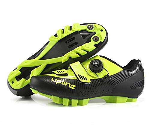 2021 New Specialized Indoor Wide Cycling Shoes MTB for Men Sneakers Original Mountain Bicycle Spin Cycle Peloton Bike Shoes Athletic Racing Sneakers-Green_4.5
