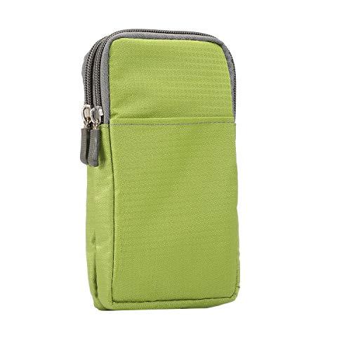 SZCINSEN Funda casual para teléfono celular para iPhone 11/11/11/Pro /11 Pro /11 Pro Max/XS Mas/XS/X Funda para cinturón de teléfono celular (color verde, tamaño: S)