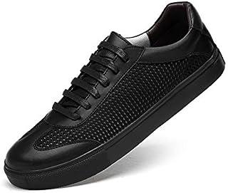 [麗人島株式會] 男性本革の靴スリップオンブラックシューズリアルレザーローファーメンズモカシンシューズイタリアデザイナー靴