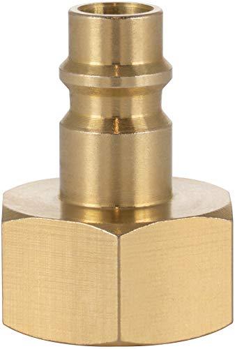 Poppstar Druckluft-Stecknippel NW 7,2 mit 1/2 Zoll Innengewinde für Druckluft-Anschluss