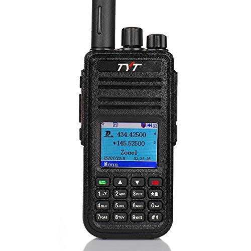 Walkie Talkie TYT MD-UV380 Handheld Dual Band Digital DMR Two Way Radio UV380 with Programming Cable