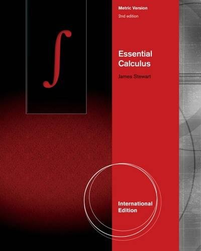 Essential Calculus, International Metric Edition
