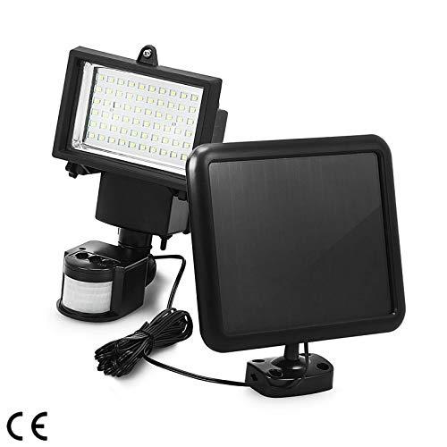 Generic 60 LED Solarleuchte Solarlampe Strahler Wandleuchte mit Bewegungsmelder Leuchte