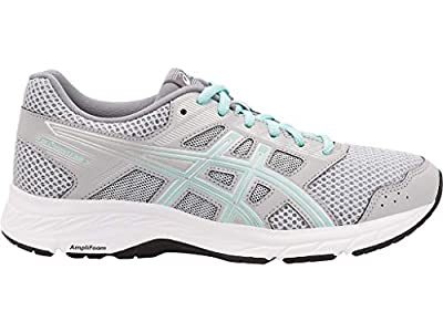 ASICS Women's Gel-Contend 5 Running Shoes, 9.5W, MID Grey/ICY Morning