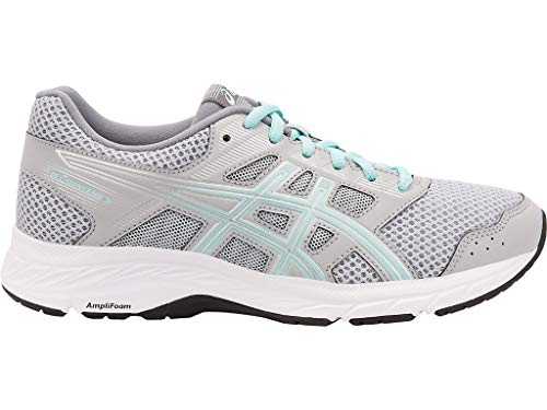ASICS Women's Gel-Contend 5 Running Shoes, 9.5M, MID Grey/ICY Morning