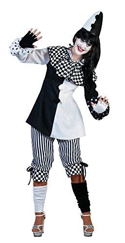 Das Kostümland Harlekin Kostüm für Damen - Gr. 40 42