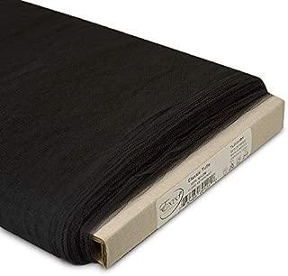Expo International 54-Inch Classic Nylon Tulle Fabric, 25-Yard Bolt, Black