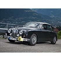Jaguar MK2: 120 pages with 20 lines you can use as a journal or a notebook .8.25 by 6 inches.