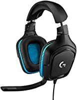 Logitech G432 Gaming Headset, 7.1 Surround Sound, DTS Headphone:X 2.0, 50mm audio drivers, USB en 3.5mm audio jack,...