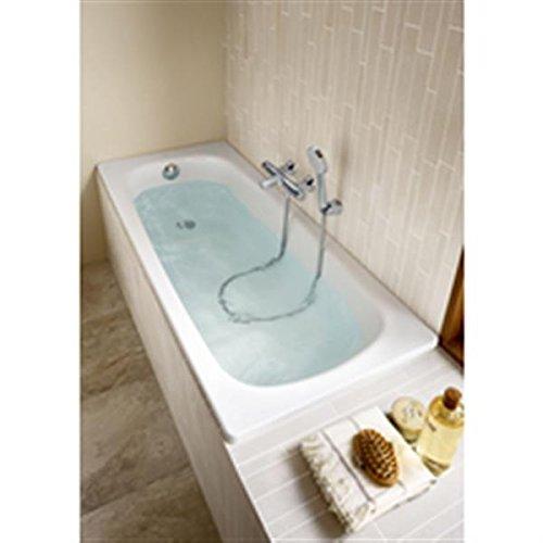 ROCA A2359K0000 - Bañera Contesa Desnuda 160 x 70 cm, sin taladro, color blanco