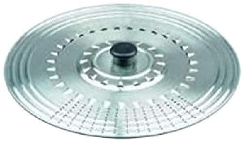 Ibili Prisma - Tapa multiuso, inox, 36-38-40-42 cm
