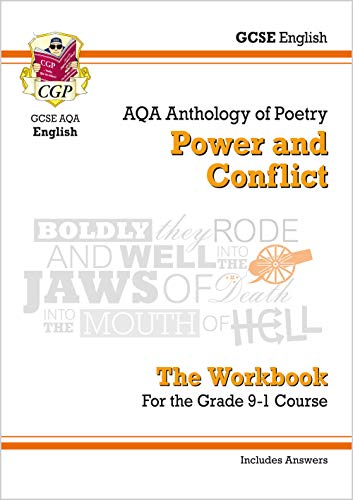 New GCSE English Literature AQA Poetry Workbook: Power & Conflict Anthology (includes Answers) (CGP GCSE English 9-1 Revision)