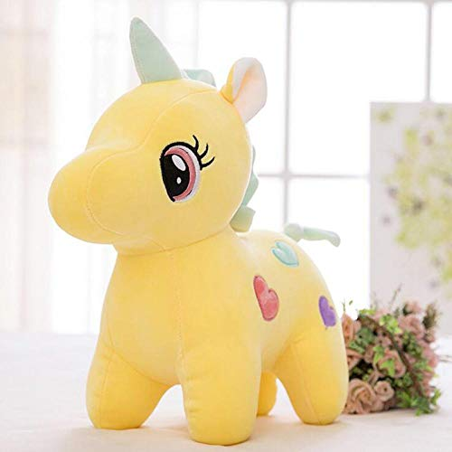 Pet Toy Pet Dog Toy Cotton Plush Dog Toys Soft Stuffed Doll Cushion Cartoon Interactive Toy For Puppies And Kids 25Cm Yellow
