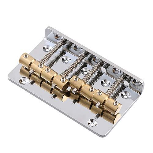 LYWS Puente de bajo eléctrico de aleación de zinc de 4 cuerdas...