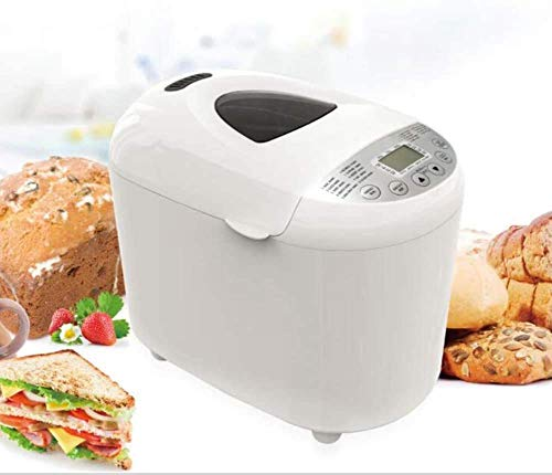 Buy Discount MHSHYSQ Automatic Bread Machine, Intelligent Fast Breadmaker, Fully Automatic Touch 450...