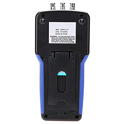 Digital Signal Generator JDS2062A Handheld 30MHz 2 Channel Signal Generator Frequency Meter S4R2 Square Wave Sine Wave Triangle wave Trapezoidal Wave