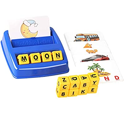 Amazon - Save 50%: Learning Toy for Kids Age 3-8, Preschool Educational Matching Letter Game, STE…