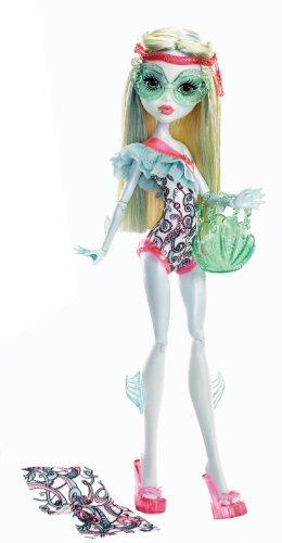 Monster High Swim Class - En Maillot De Bain Serie ASST. Y7302 Poupée Doll Y7305 Lagoona Blue
