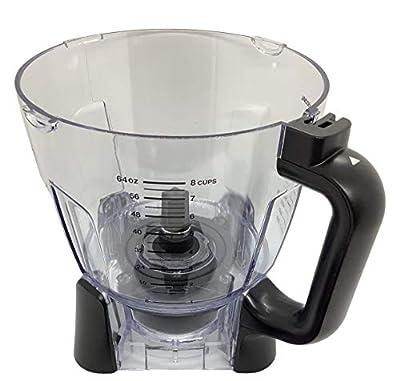 Ninja 64oz (8 Cup) Food Processor Bowl Only for BL680 BL681 BL682 BN801 BL910 Blender