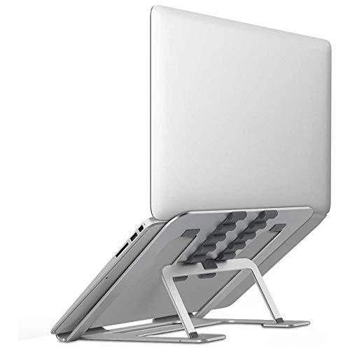 Laptop Stand, Adjustable Portable Desk Riser, Ergonomic Foldable Laptop Holder, Laptop Desk Stand Mount For 13.3-17inch Notebook Computer Cooling Holder Support Bracket