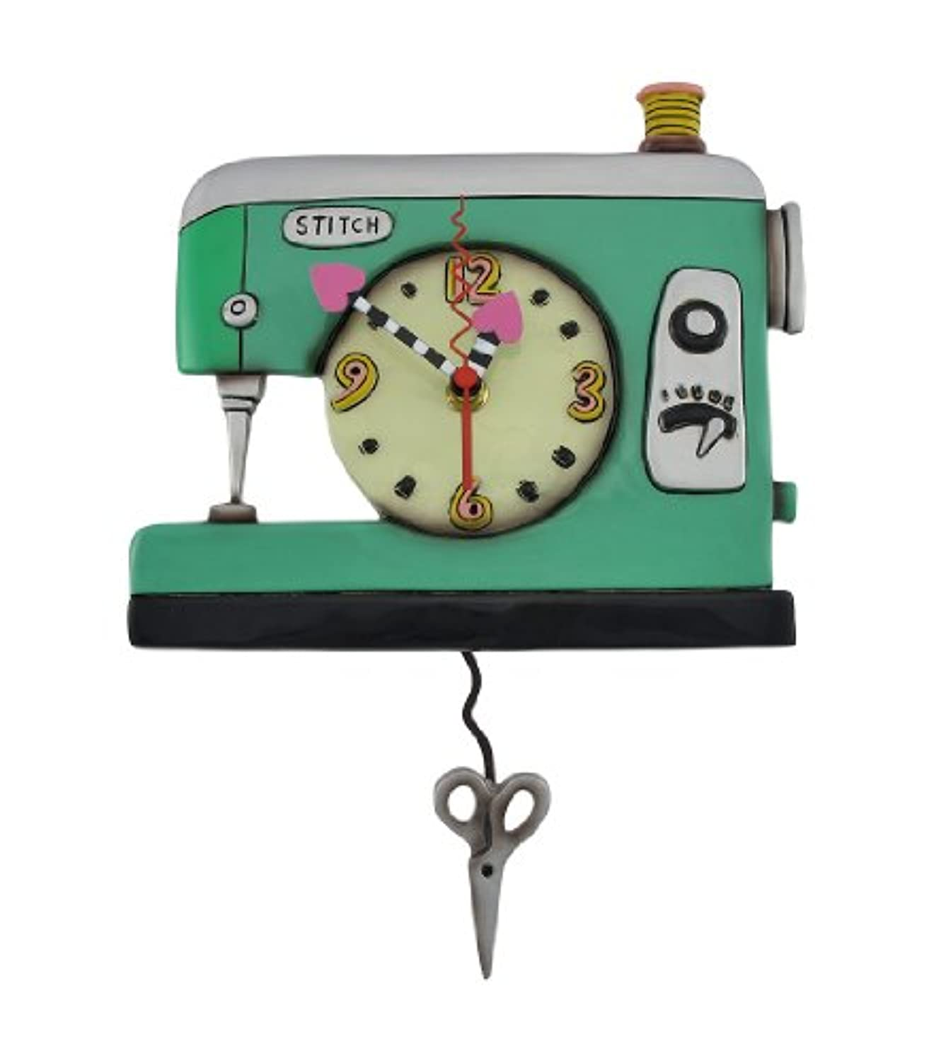 Allen Designs Stitch Sewing Machine Clock kkqstxzvlbltvi